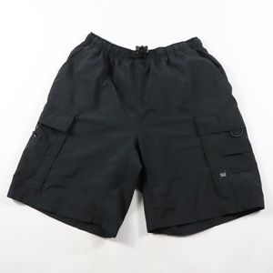 Vintage Nike ACG Spell Out Cargo Hiking Shorts L